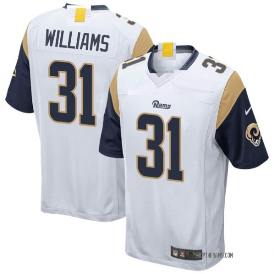 Darious Williams Los Angeles Rams No.31 Game Jersey - White