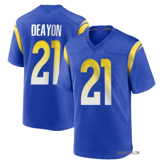 Donte Deayon Los Angeles Rams No.21 Game Alternate Jersey - Royal