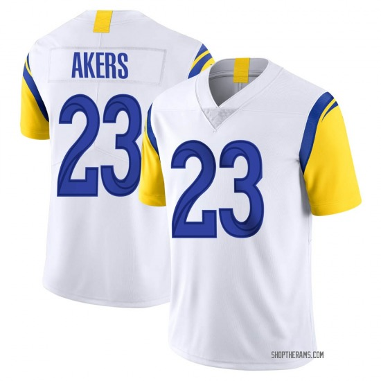Youth Cam Akers Los Angeles Rams No.23 Limited Vapor Untouchable Jersey - White